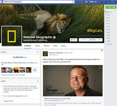 MagazineSocialMediaNational GeographicFB201411.png
