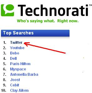 Technorati Twitter top1.JPG
